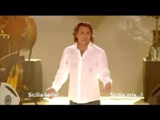 Roberto alagna sicilia bedda (subtitulado espanol)