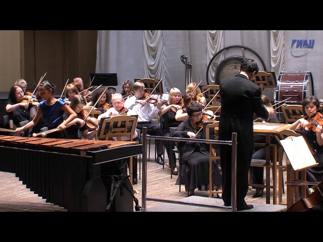 Bailak Mongush Concerto for marimba and String orchestra by Emmanuel Sejourne part 1