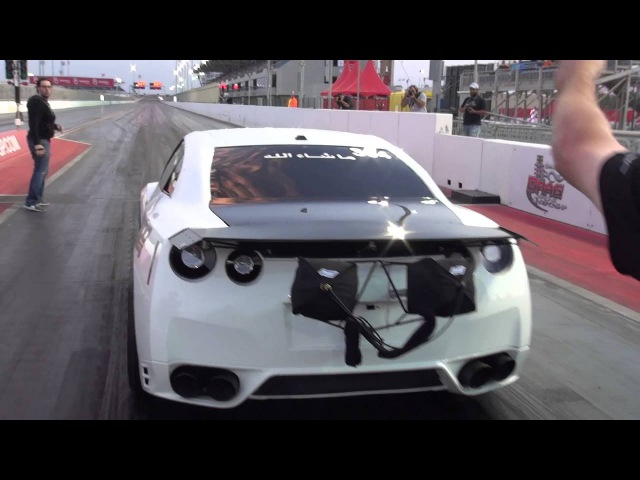 EKanooRacing's T1 R35 GTR New World Record 7 265 @ 328 18 KM H 204MPH