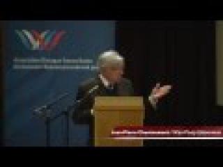 Jean-Pierre Chevènement à l'AG du Dialogue Franco-Russe