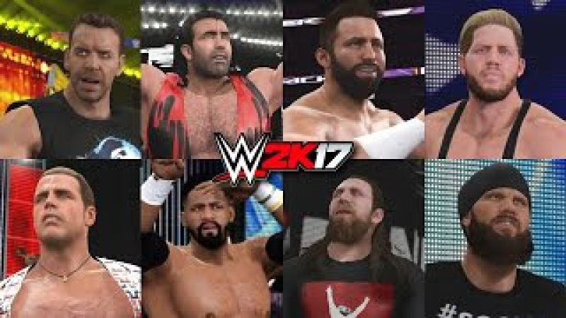 WWE 2K17 - Brand New Zack Ryder, Christian, Daniel Bryan, Shawn Michaels, Scott Hall Entrances