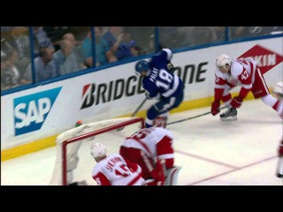 Gotta See It: Palat takes hard hit into boards from DeKeyser