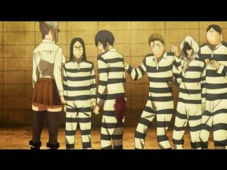 Без Цензуры| Школа-Тюрьма 3 серия AniDub| Prison School 03 эпизод| Школа строгого режима русская озвучка BDRip