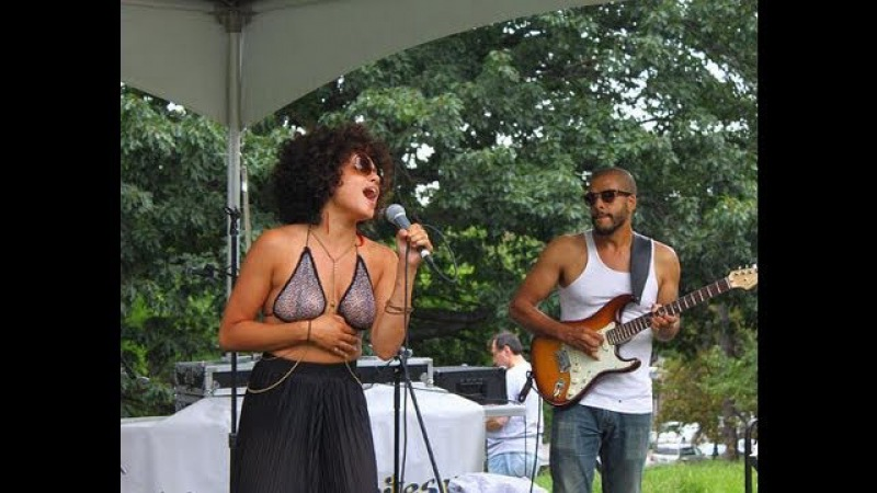 FOKUS presents: Sophia Urista and The Sauce performing live at The Stoop