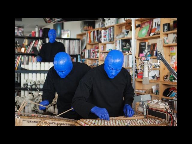Blue Man Group NPR Music Tiny Desk Concert