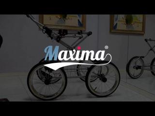 Детская коляска 2 в 1  Maxima Elite XL (Максима Элит Икс Эль)