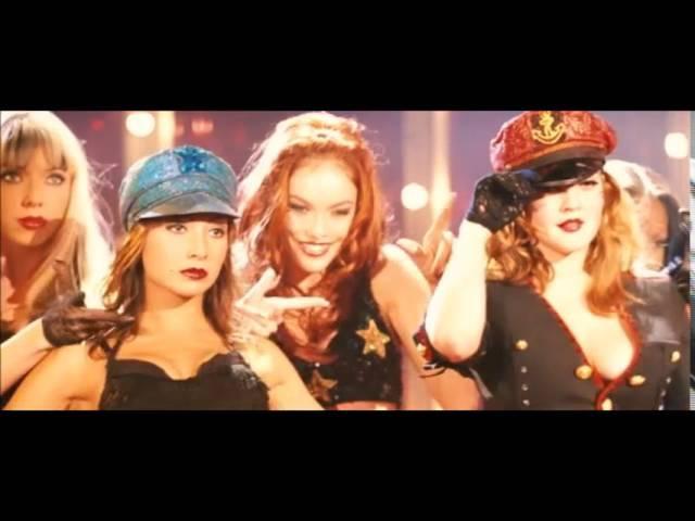 Танец в стиле бурлеск из фильма Ангелы Чарли 2