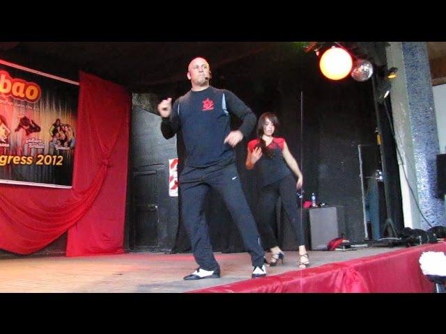 Junín Salsa Congress 2012 ~ Workshops ~ Yamuleé Oliver Pineda Ataca La Alemana Timbaleros II