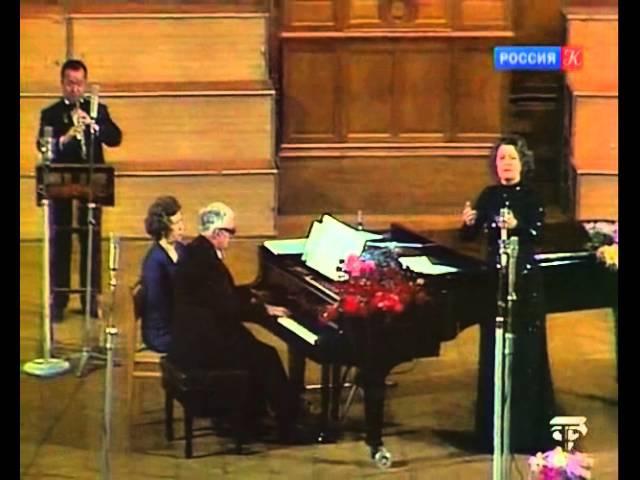 Елена Образцова исполняет романсы и песни Георгия Свиридова 1976