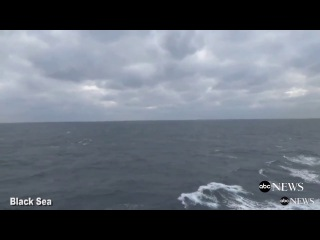 Russian fighter jets buzz USS Porter in the Black Sea