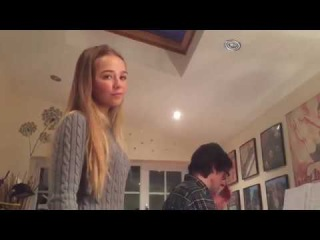 Connie Talbot - When We Were Young, rehearsal 2017