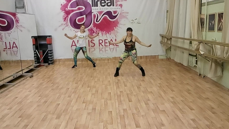 Twerk Dance Hall Хореография Ольги Афтайкиной 54 года