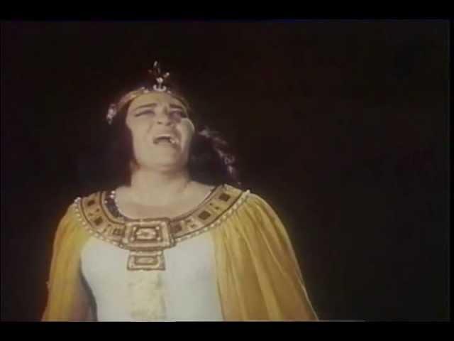 Ирина Архипова - Ария Амнерис из оперы Аида (Дж.Верди)