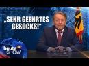 Bundespräsident Wischmeyer redet dem Volk ins Gewissen | heute-show vom 10.02.2017