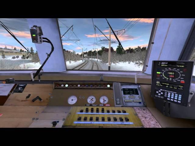 Trainz 2012 Пригородное сообщение Мосты-Балезино