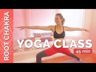 Grounding Yoga Sequence for The Root Chakra - Muladhara Chakra Yoga Flow | Chakra Challenge