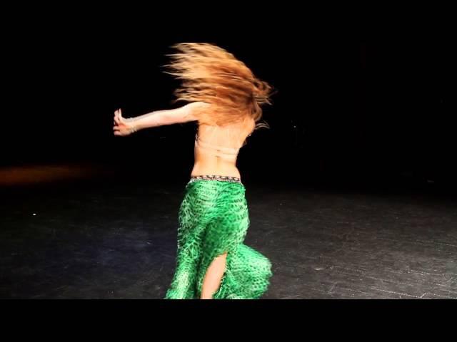 Dominika Suchecka Sawah WrocLOVEs Bellydance 2014