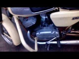 jawa 634  CDI генератор от скутера мотор после капитального ремонта