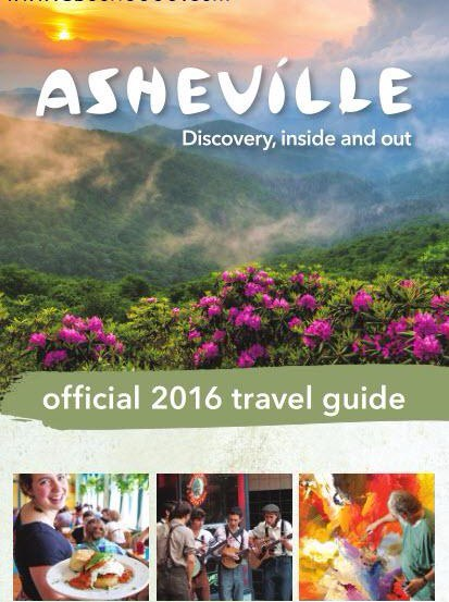 Asheville Official 2016 Travel Guide