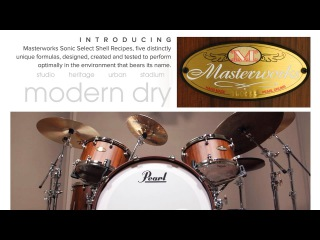Pearl Masterworks Series: MODERN DRY featuring Will Kennedy