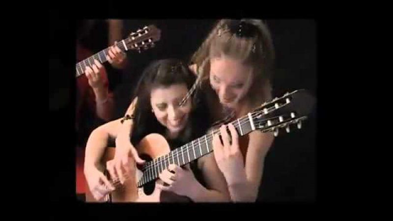 4-tissimo Guitar Quartet plays Tico Tico no Fubá.