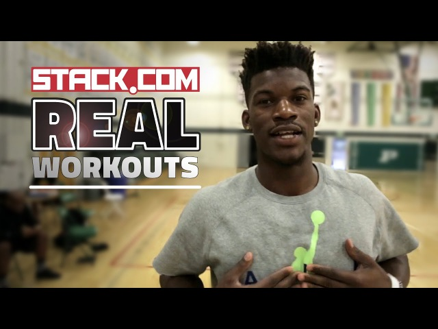 Real Workouts NBA Star Jimmy Butler Pt 2 On Court Drills