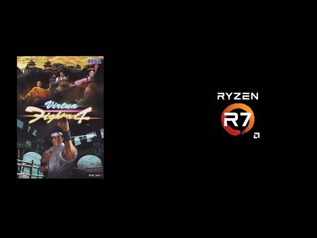 Ryzen Emulation Virtua Fighter 4 Final Tuned Demul