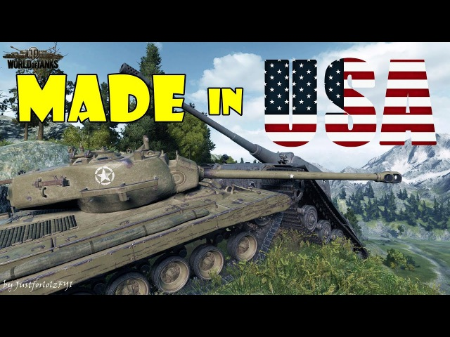 World of Tanks Funny Moments MADE IN USA