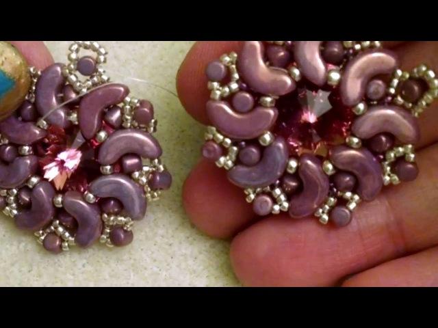 DIY Tutorial modulo Shooting Star Stella Cadente incastonatura con Arcos les perles par Puca