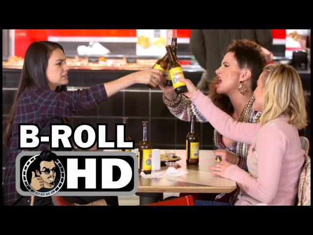 A BAD MOMS CHRISTMAS Bloopers Gag Reel B-Roll (2017) Mila Kunis, Kristen Bell Comedy Movie HD