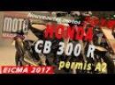 Honda CB 300 R nouveauté 2018 présentée au salon de Milan EICMA 2017