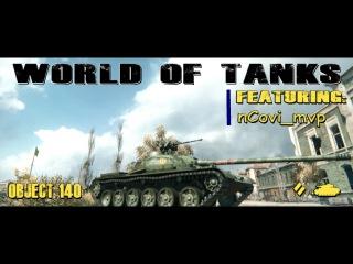 World of Tanks Object 140 12 Kill Assault and Destruction 9.5 K Damage #WorldofTanks #wot