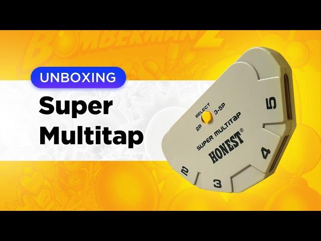 Super MultiTap Игры на пятерых для SNES
