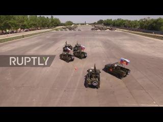Русские армейские автомобили синхронизируются, чтобы забрать домой первое место в Intl. Army Games comp