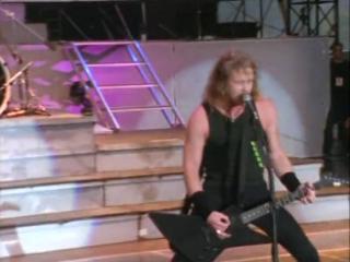 1991 г. Metallica - Creeping Death. Фестиваль МОНСТРЫ РОКА в Москве.Тушино.