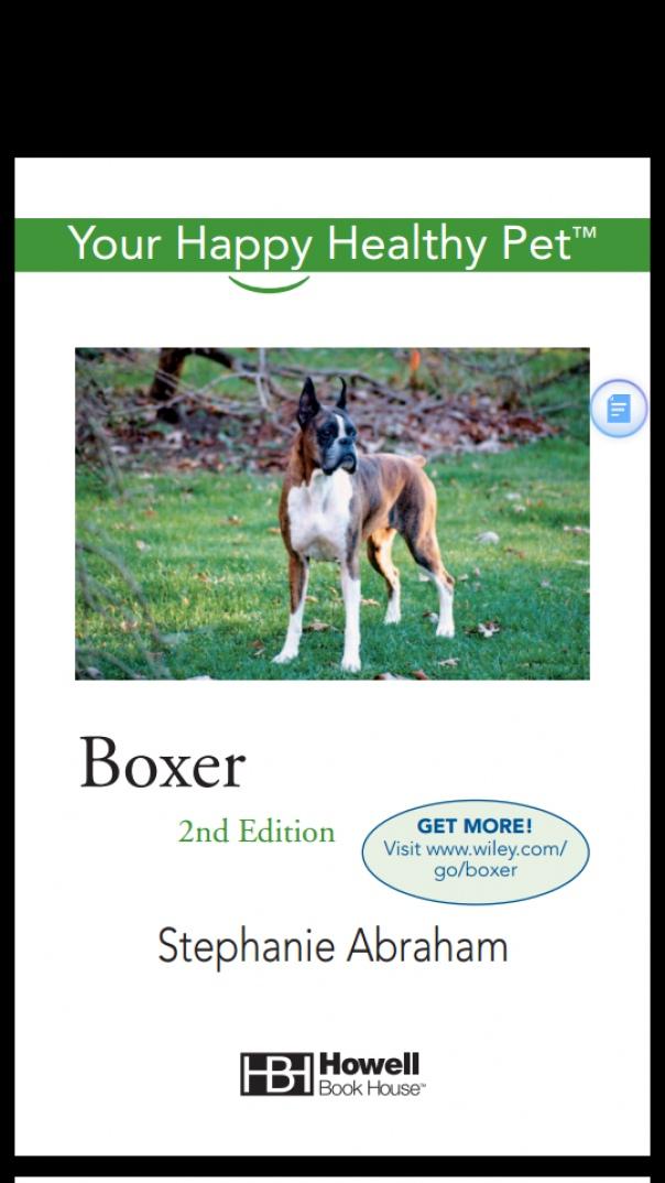 Boxer Your Happy Healthy Pet