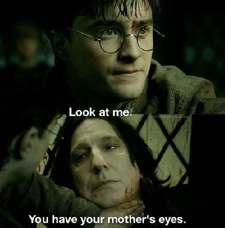 «Посмотри на меня. У тебя глаза матери»