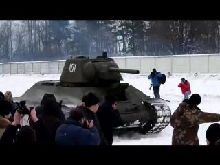 T-34 живая мощь советской брони!