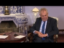 Miloš Zeman rychle a tvrdě postavil do latě ruského premiéra Medveděva za lživý článek o okupaci YouTube