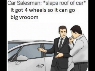 Car salesman slaps
