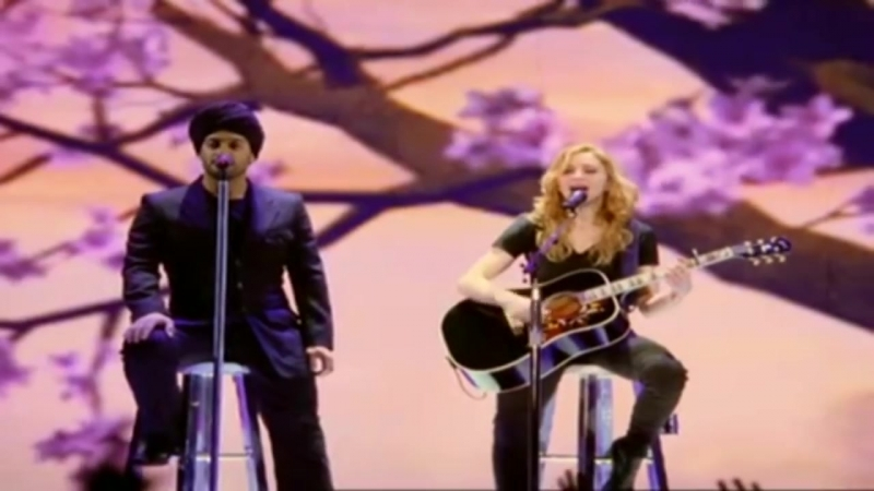 Madonna Isaac Sinvani Paradise is not for me Live 2006