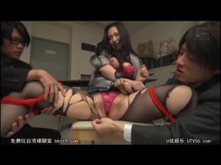 Sayama Ai [PornMir, Японское порно, new Japan Porno Creampie, Big Tits, Titty Fuck, Gangbang]