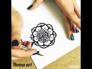 Henna art | Мандала