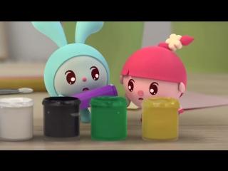 Малышарики - Обучающий мультик для малышей - Все серии подряд - Сборник 8_()