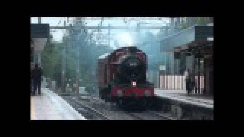 GWR 4900 Class No 5972 'Olton Hall' A K A Hogwarts Castle Light Engine 4 7 14
