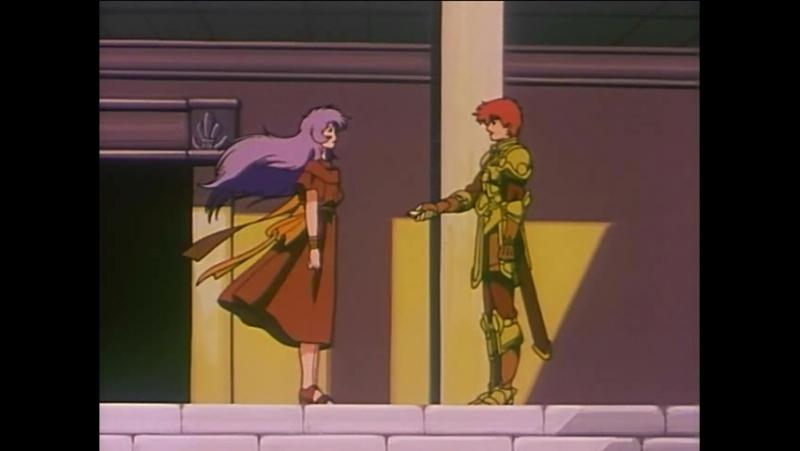 Ancient Books of Ys OVA 1989 4 серия rus sub