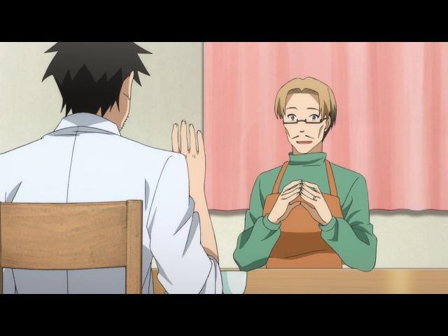 Бок о бок с полулюдьми Demi chan wa Kataritai 6 серия AniDub