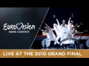Giorgos Alkaios Friends OPA Greece Live 2010 Eurovision Song Contest