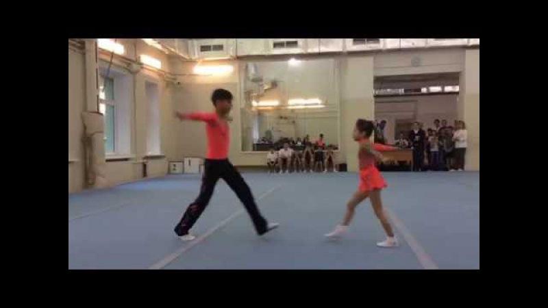 Акробатика смешанная пара 1 й юношеский разряд
