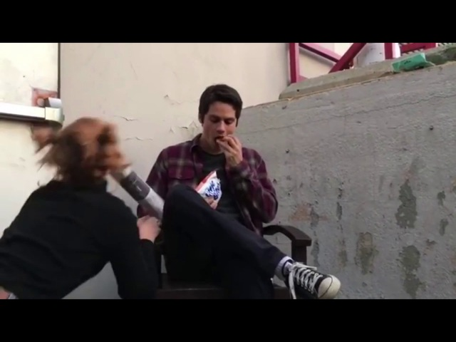 Teen Wolf Cast Season 6 Behind the Scenes Set Tyler Posey Dylan O' Brien More Part 3